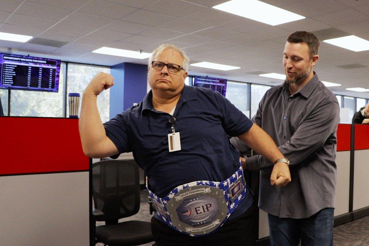 EIP Champion Belt