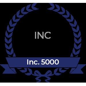 Inc. 5000 Award Ribbon